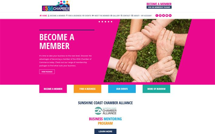 4556 chamber of commerce website banner